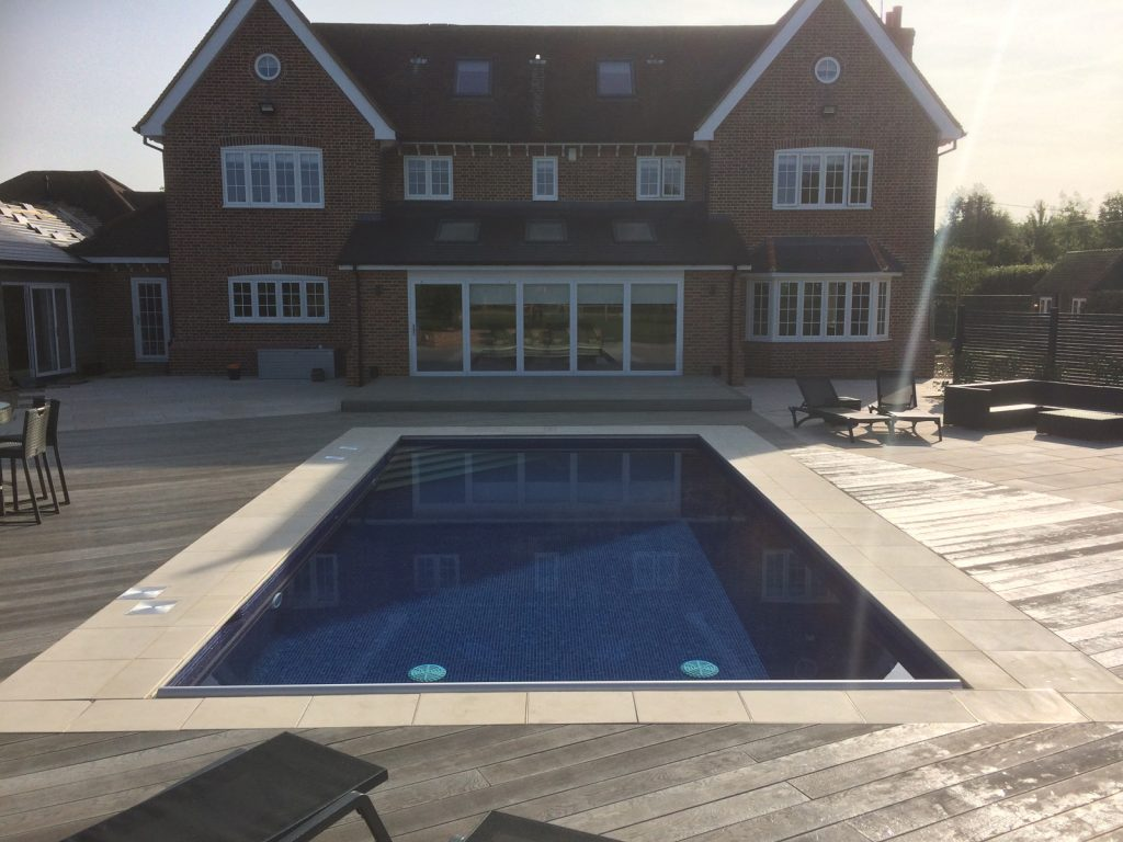 Outdoor swimming pools Essex