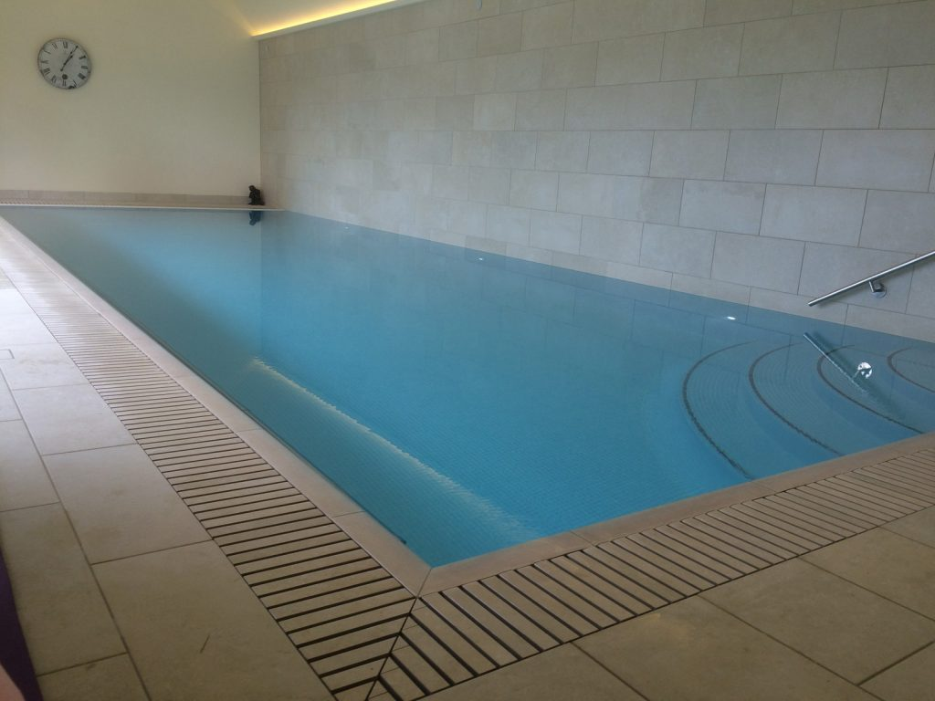 Indoor Swimming Pool build